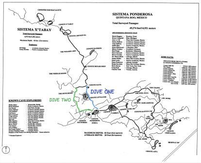 El Eden cave map